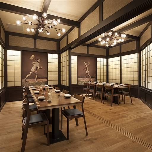 PABU's Warrior Rooms - PABU - San Francisco Private Dining OpenTable