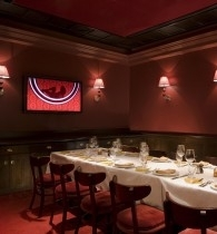 private dining room at strip house - Private Dining Rooms Las Vegas