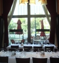 the private dining room - Private Dining Rooms Las Vegas