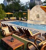Poolside at Hotel ZaZa photo