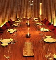 Zuma japanese restaurant miami private dining opentable for Best private dining rooms miami