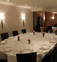 Semi-private dining area photo