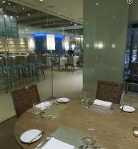 Glass-Enclosed Private Dining Room photo