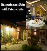 Entertainment Suite with Private Patio photo