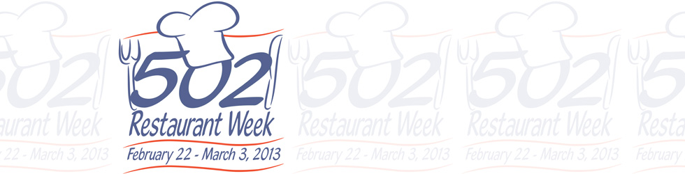502 Restaurant Week - Participating Restaurants