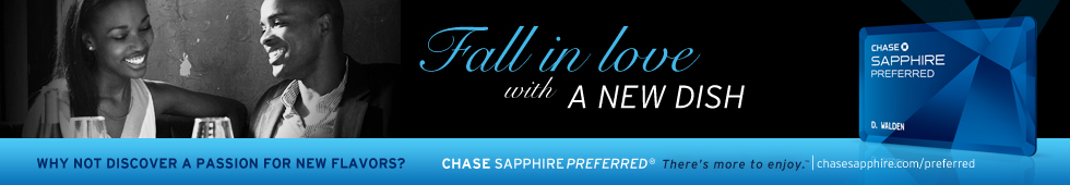 Chase Sapphire Most Romantic National Roundup