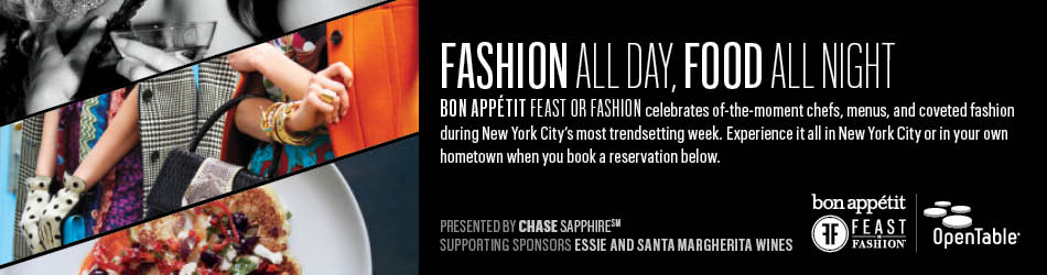 Feast or Fashion - Bon Appetit