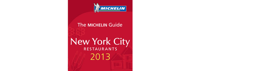 Michelin Star Recipients -- New York Restaurants