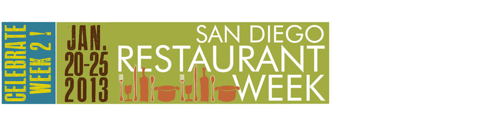 San Diego Restaurant Week - Participating Restaurants