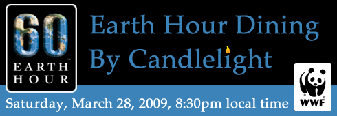 Earth Hour LA's Dine by Candlelight