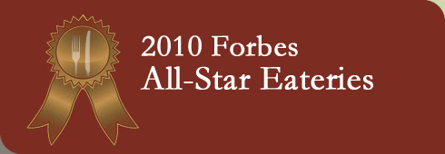 Forbes All-Star Eateries