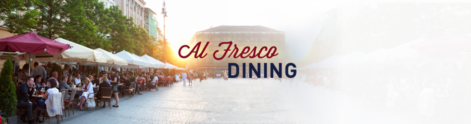Outdoor Dining - Palm Springs Participating Restaurants