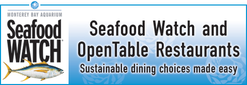 Seafood Watch Approved Restaurant Dishes