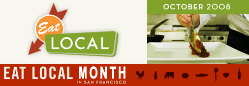 Eat Local Month in San Francisco