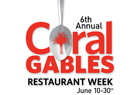 Coral Gables Restaurant Week Image