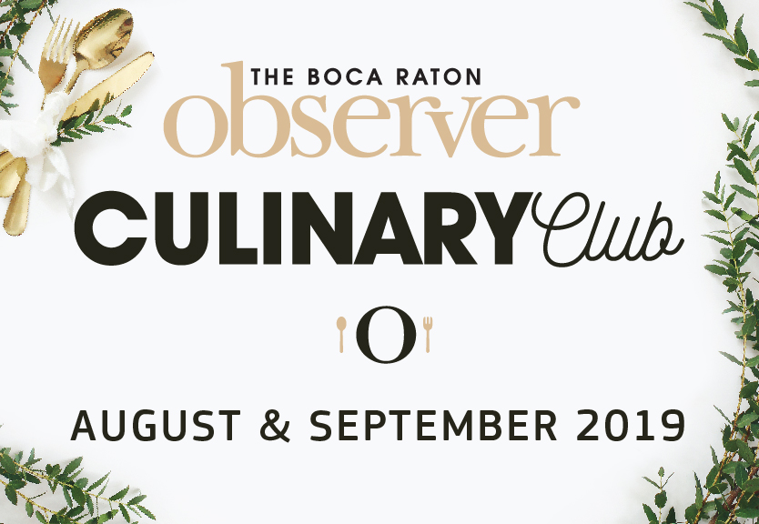 The Boca Raton Observer Culinary Club