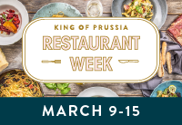 King of Prussia Restaurant Week