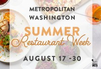 Metropolitan Washington Restaurant Week