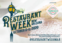 Restaurant Week New Orleans