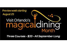 Orlando Magical Dining Month Image