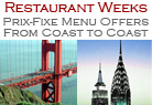 Restaurant Week Specials & Prix Fixe Deals Image